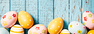 Easter holidays in a holiday home or holiday apartment